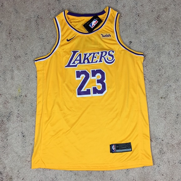 reputable site bcdd1 99075 Lebron James Lakers Jersey XXL 23 NWT